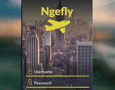 """Check out new work on my @Behance portfolio: """"Ngefly. Flight Information Mobile app Design"""" http://be.net/gallery/49387271/NgeflyFlight-Information-Mobile-app-Design"""