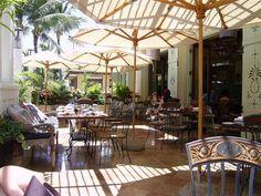 Tommy Bahama Cafe at Wailea Shops on Maui.