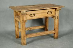 Antiques and Collectibles - 19th Century Mexican Sabino Wood Table