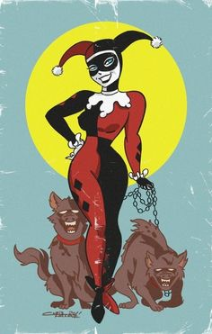 Harley Quinn by Chris Faccone Harley Quinn Drawing, Joker And Harley Quinn, Catwoman, Dc Comics, Nananana Batman, Female Villains, Harely Quinn, Mundo Comic, Gotham Girls
