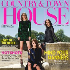 Our October issue is out today! We gear up for London Design Week with a spotlight on interiors in a special section courtesy of Emma Love. Meet the ballet legend Matthew Bourne and the lovely girls of Belvoir Castle @mannersviolet @mannersalice @elizamanners #design #interiors #bestofbritish #bestofbothworlds