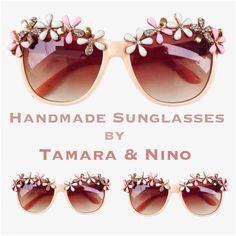 Handmade sunglasses by T&N