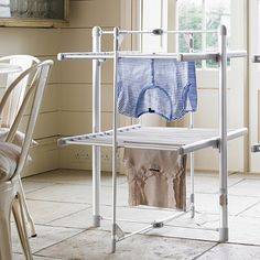Dry-Soon 2-Tier Heated Tower Airer - from Lakeland