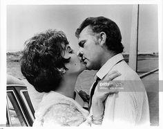 "Elizabeth Taylor, Richard Burton ""The Comedians"",1967."