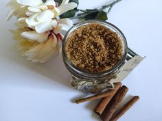 Brown Sugar Body Scrub Sugar Scrub All Natural by MzMayCreations