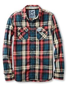 Superdry Lumberjack Twill Shirt | Piperlime