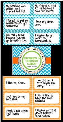 Use these 36 problem and solution cards for a variety of cooperative learning… Cooperative Learning Activities, Speech Therapy Activities, Reading Activities, Reading Lessons, Reading Strategies, Math Lessons, Reading Comprehension, Teachers Toolbox, Teacher Tools