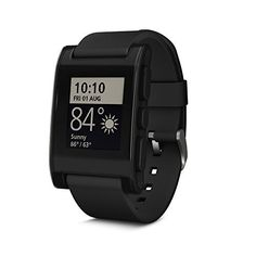 Pebble Smartwatch for iPhone and Android (Black) by Pebble Technology Corp, http://www.amazon.com/dp/B00BKEQBI0/ref=cm_sw_r_pi_dp_Nc3dvb05KT0XQ
