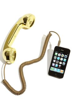 Awesome - a phone handset for your iPhone or iPad!