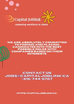 Often it becomes more and more confusing too to select or apply. But now no worries about your job opportunities because here Capital Joblink employment agency hiring jobs in Etobicoke. We are connected with the people for 8 years, so it expresses our experience in our market. Job Website, Jobs Hiring, Connection, How To Apply, Marketing, People, People Illustration, Folk