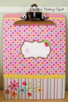 crafty and cute clipboards
