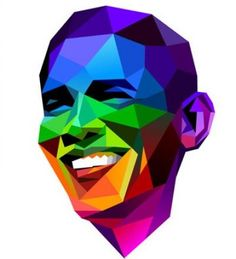 Obama shows his gay pride in new viral image Barack Obama, Lgbt, Presidente Obama, Rainbow Images, Comic, Political Figures, Gay Pride, Over The Rainbow, Black Art