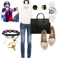 """""""Classy Concert Outfit"""" by bellacanzone on Polyvore"""