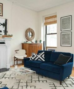 The New Living Room: 4 Top Trends-- This is about the feel I want in my living room.. But just a touch warmer