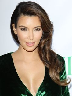 The Best Celeb Hairstyles For Every Length: Long hair: Kim Kardashian