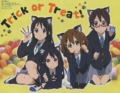 K-ON! / poster promo Hirasawa Yui , Akiyama Mio , Nakano Azusa