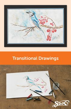 Explore nature motifs through the Transitional Drawings art lesson plan… Painting Lessons, Art Lessons, Elementary Art, Upper Elementary, Middle School Art, High School, Art Lesson Plans, Art Education, Art Drawings