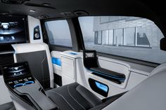 Brabus consolidates technology in its latest Business Lounge van Benz Sprinter, Private Jet, Car Accessories, Mercedes Benz, Car Seats, Automobile, Lounge, Van, Technology
