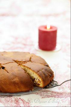 Pandolce genovese pain de Noël (sorte de panettone) de la Ligurie