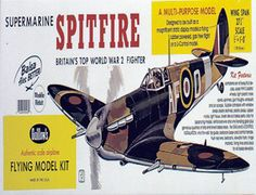 """The Guillows 1/16 Supermarine Spitfire is a balsa wood aircraft model kit from the range manufactured by Guillow.  No fighter of World War 2 is more deserving of fame than the Supermarine Spitfire. During the Battle of Britain, the Spitfires blunted the attack of the German Luftwaffe and buoyed British hopes in their darkest hour. It also flew in every front between 1939 and 1945 and was engaged in every major action fought by the R.A.F. in that time.    Wingspan: Over 24""""  Age: 12"""