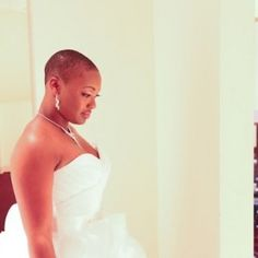 Click the image for details on Precious' wedding hair.