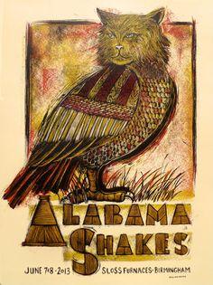 GigPosters.com - Alabama Shakes
