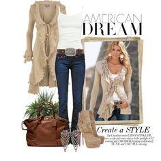 """American Dream"" by deborah-simmons on Polyvore"