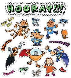 9th Birthday, Birthday Parties, Birthday Ideas, Dav Pilkey Dog Man, Dog Man Book, Black Cat Drawing, Elementary School Library, Man Character, Disney Aesthetic