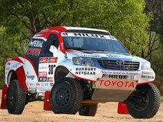 Toyota Unveils Hilux for 2013 Dakar Rally