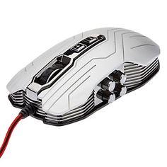 R/L+Hand+Versatile+Ultra+Light+Cool+Optical+Sensor+9D+Gaming+Mouse(800/1200/1600/2400+DPI)+–+USD+$+17.99