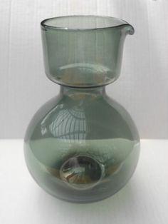 Kaj Franck Nuutajarvi Modern Glass, Mid-century Modern, Lassi, Glass Design, Carafe, Finland, Cookware, Tabletop, Glass Art
