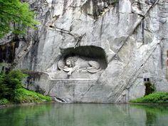 Lion of Lucerne monument