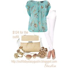 the look for less, created by stacy-gustin on Polyvore