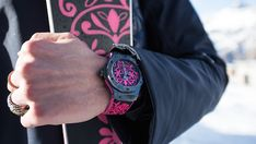 Hublot pays homage to Swiss ski culture with limited-editions  Hublots Big Bang Sugar Skull timepiece  Swiss watchmaker Hublot is heading to the slopes with a partnership that outfits skiers wrists and feet.  Working with Bischoff and AK Ski Hublot developed limited-edition Big Bang Sugar Skull timepieces and coordinating skis that bear the same pattern drawing on the parties shared values of craftsmanship and innovation. With the winter sporting season in full swing Hublot is putting a…