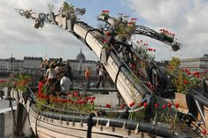 This French art collective is building the world's largest hanging garden