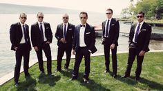 classy groomsmen picture, GQ baby