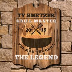 Bbq Signs, Home Wet Bar, Sun Wall Decor, Medallion Wall Decor, Bbq Accessories, Patio Wall, Decorative Signs, Personalized Signs, Wall Signs