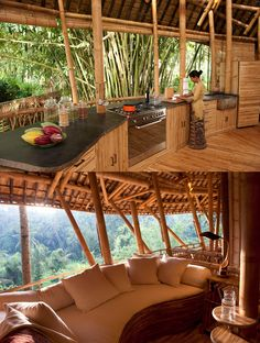 Ibuku's green village community in Indonesia #bamboo