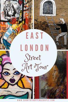 Take a peek through East London's mesmerising street art