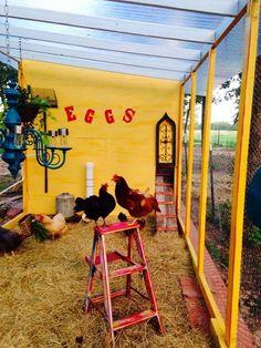 Chicken Coop Decor, Chicken Toys, Chicken Pen, Chicken Life, Best Chicken Coop, Building A Chicken Coop, Chicken Houses, City Chicken, Chicken Ideas