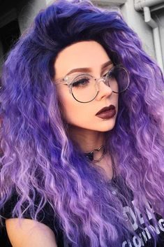 Aesthetic/Inspiration: Colors 21 Pastell Lila Haarfarbe Trend Caring Of A Tie If a tie could speak, Pastel Purple Hair, Hair Color Purple, New Hair Colors, Purple Lilac, Colorful Hair, Summer Hairstyles, Pretty Hairstyles, Thin Hairstyles, Glasses Hairstyles