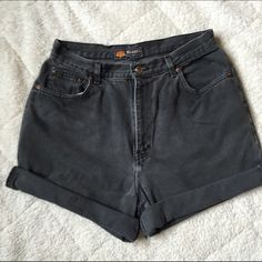 High Waisted Jean Shorts High waisted Jean shorts made from high quality recycled denim. Can be worn rolled or unrolled depending on length preference! Urban Outfitters Shorts Jean Shorts