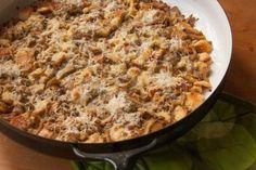 Creamy, Crunchy, and full of Umami-Mushroom Goodness: wild mushroom bread pudding