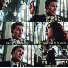 *CIVIL WAR SPOILERS* loved this scene. BLESS NATASHA FOR BEING A TRUE FRIEND.