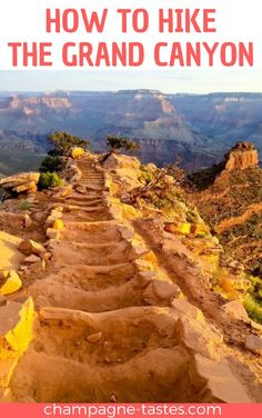 How to Hike the Grand Canyon Are you thinking about hiking the Grand Canyon? This hiking guide will walk you through what food to bring, how to prepare yourself for the trail, and the best trails for your hike. Hiking Guide, Trail Guide, Backpacking Tips, Grand Canyon Hiking, Grand Canyon Vacation, Grand Canyon South Rim, Hiking Training, Arizona Travel, Arizona Trip