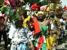 Suriname - Wandelmars, Creoolse bevolkingsgroep