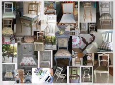 Restauro di una sedia in stile shabby restauro fai da te pinterest stiles and shabby - Restauro mobili fai da te ...