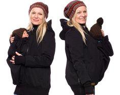 3 en 1 bebé llevar chaqueta chaqueta de lana por VivalaMamaBerlin