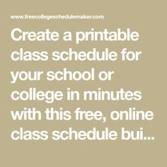image not available daily schedule maker online online college