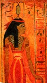 "Neit, the weaver,  great mother of Kemet.     ""Eldest of the primordial gods,   She who made that which is,   She who created that which exists....   She who rises in the primal waters,   She who fills heaven and earth with   her beauty, the mother of millions...   who gave birth to Ra,  who brought forth in primeval time herself,  never having been created.""    Inscribed on the inner sanctuary of the great Temple of Neit   at Sais were the words:   ""I am all that is or was or will be and no…"